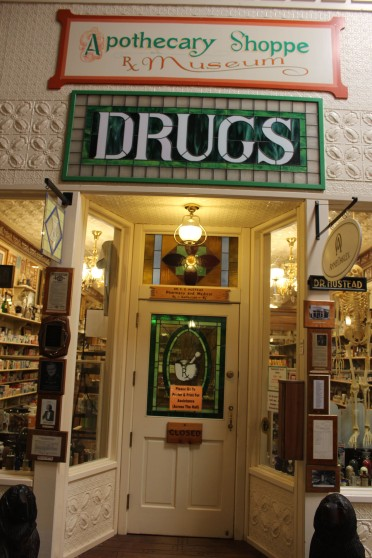 I wish the drugstore museum would have been open