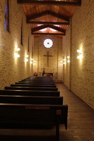 A really nice travel chapel
