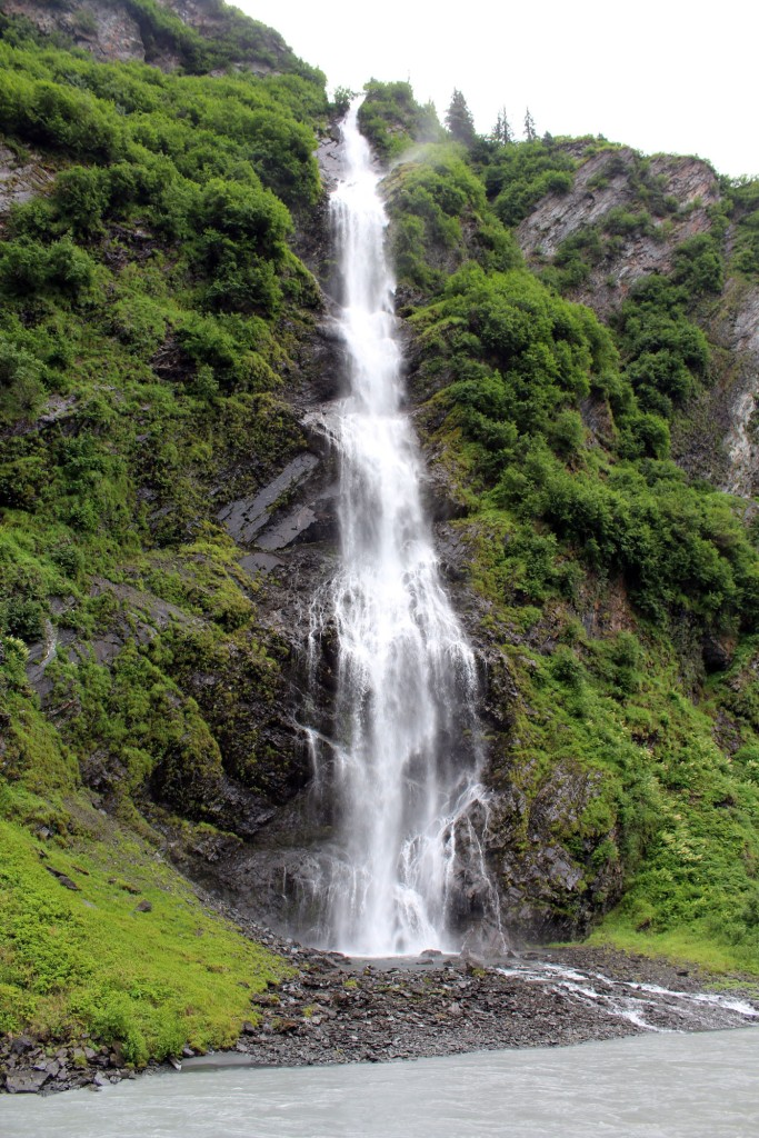 Bridal Veil stood over 300 feet tall