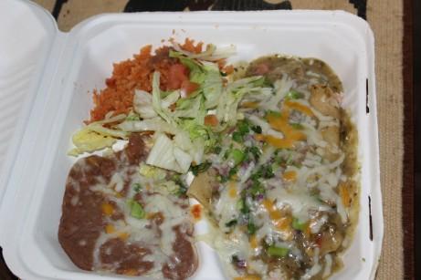 Crab and seafood enchilada
