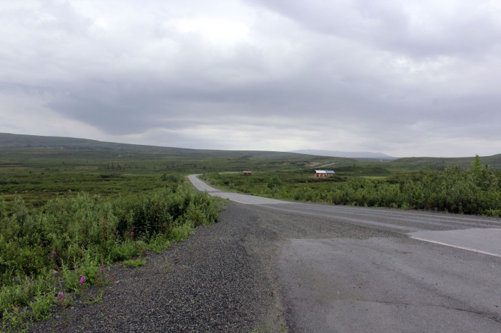 Where the road ends, In places it was graded and actually quite pleasant but those sections never lasted for long