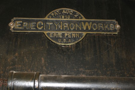 The furnaces were made in Erie, Penn