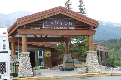 Canyon Steakhouse was attached to the hotel