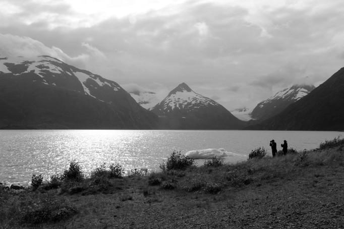 Beautiful Glacier Lake next door