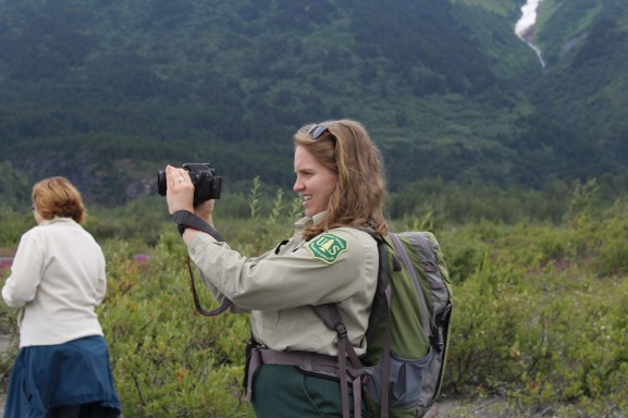 Our terrific ranger Mia who was kind enough to take pictures for everyone