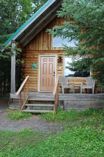 One of the smaller cabins