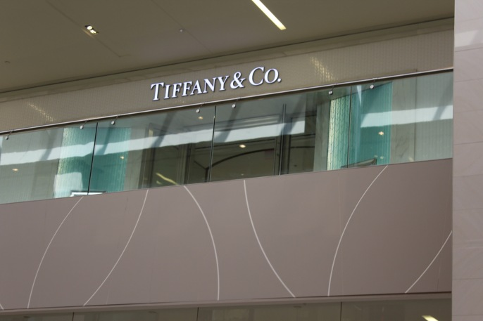 Stores ranged from Tiffany