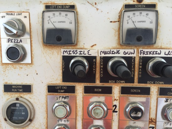Lee's labeling system for the control panel