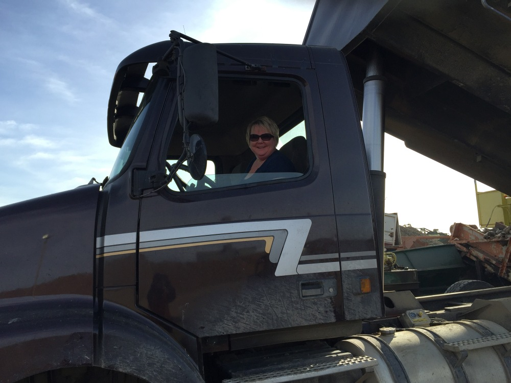 My favorite truck driver Anita