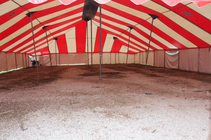 Empty tent!!!