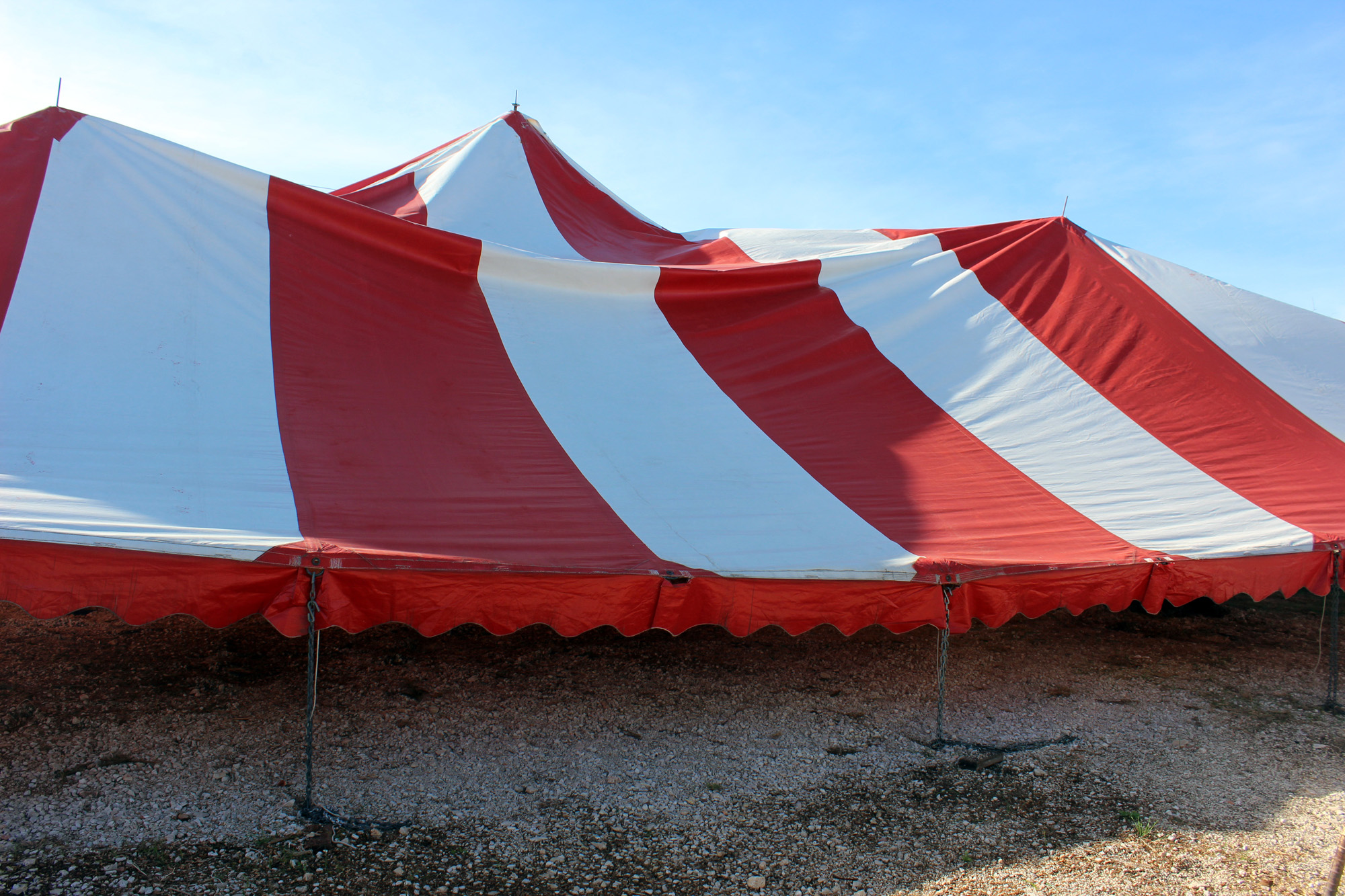 The tent started to come down & First Time Watching A Tent Come Down u2013 Camper Chronicles