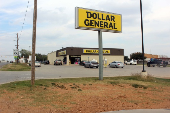 It seems like there is always at least one dollar store